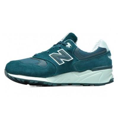 new balance bleu vert