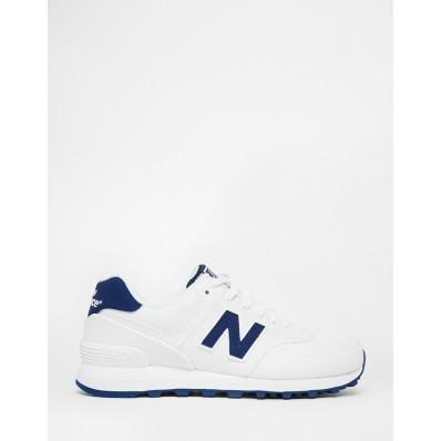 new balance bleu marine blanche