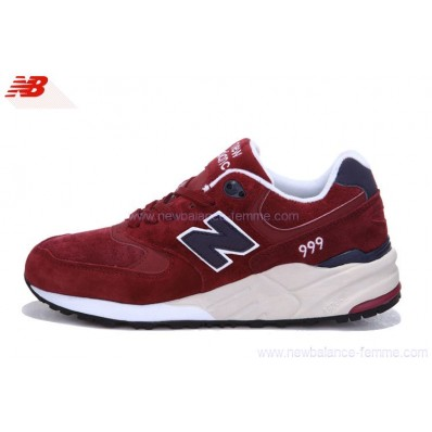 new balance rouge bordeaux 999