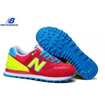 new balance rouge jaune bleu