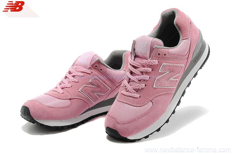chaussures new balance femme rose