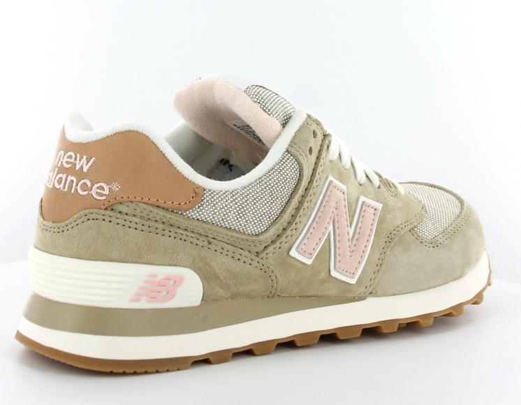 new balance kaki rose