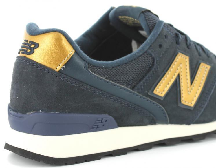 new balance 996 bleu marine et or