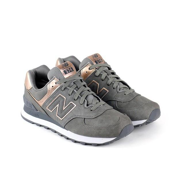 new balance grise et bronze