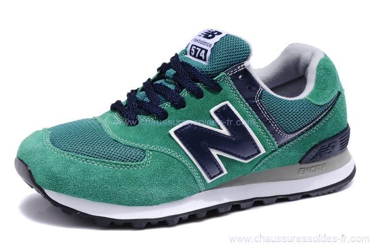 new balance vert bleu