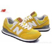new balance jaune blanc