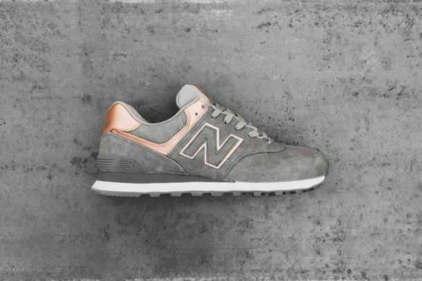 new balance rose gold trainers, New Balance Rose Gold