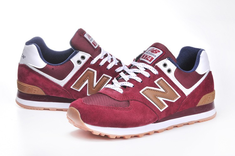 new balance rouge courir
