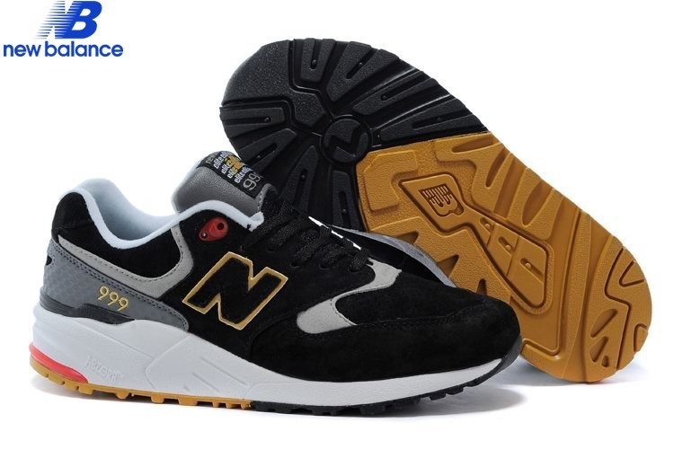 new balance solde courir, New Balance Ml999kb Noir Or Gris Courir Chaussures Avec Une Remise - 50% - New