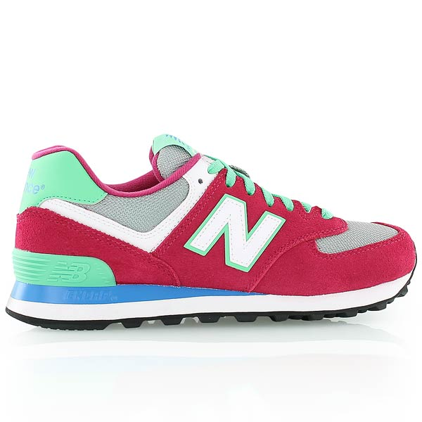 new balance verte et rose, new balance WL574